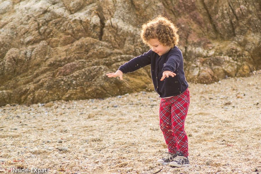 Mimi B. lance du sable