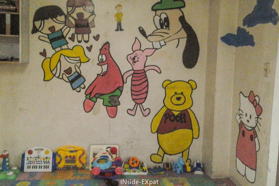 Peintures sur les murs