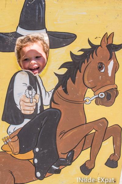 Mimi B. en cow boy