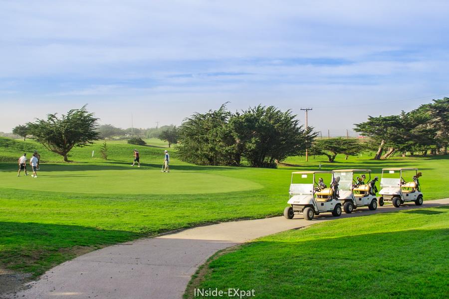 Terrain de golf - Pacific Grove, CA