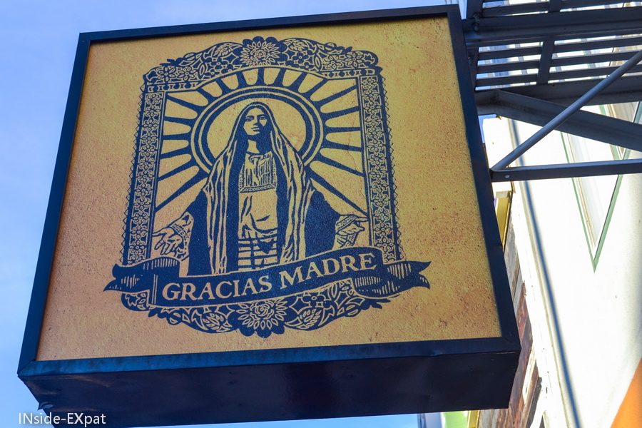 Gracias Madre, Organic and vegan mexican restaurant