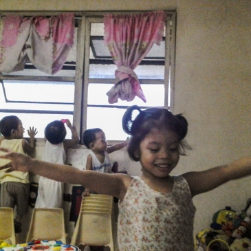 It's more fun in the Philippines – Day 3 : The children of the Asociacion de Damas de Filipinas