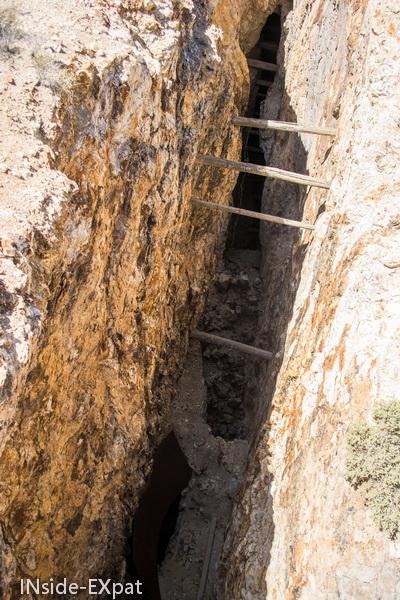 Ce qui reste de la mine de Tonopah
