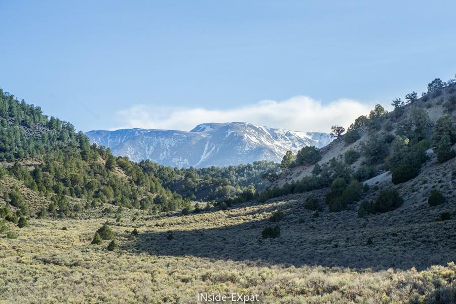 Les paysages sur la route de notre roadtrip