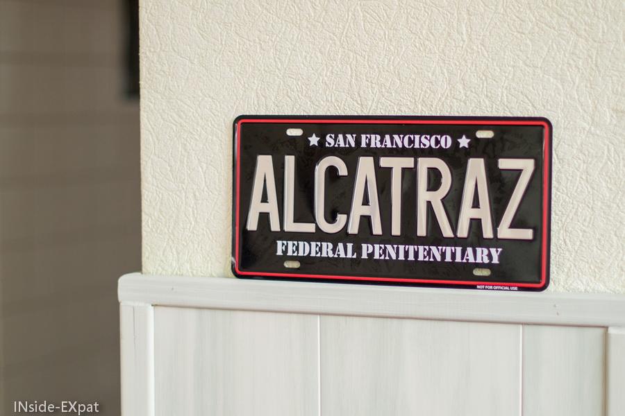 Panneau Alcatraz