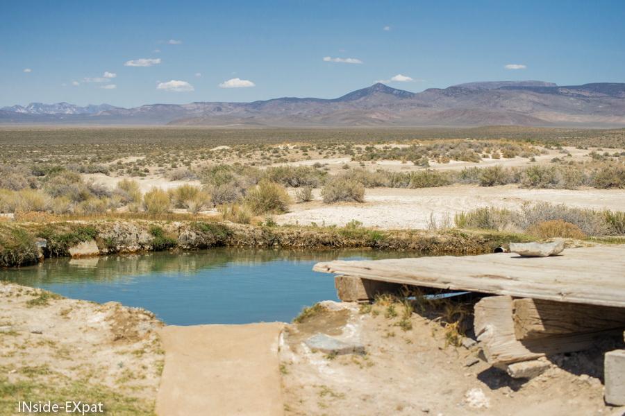 Piscine des Spencer Hot Springs