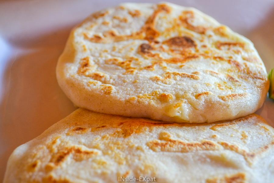 Le pupusa, une spécialité salvadorienne