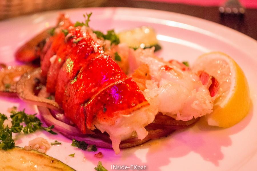 esperpento, SF : queue de homard grillé