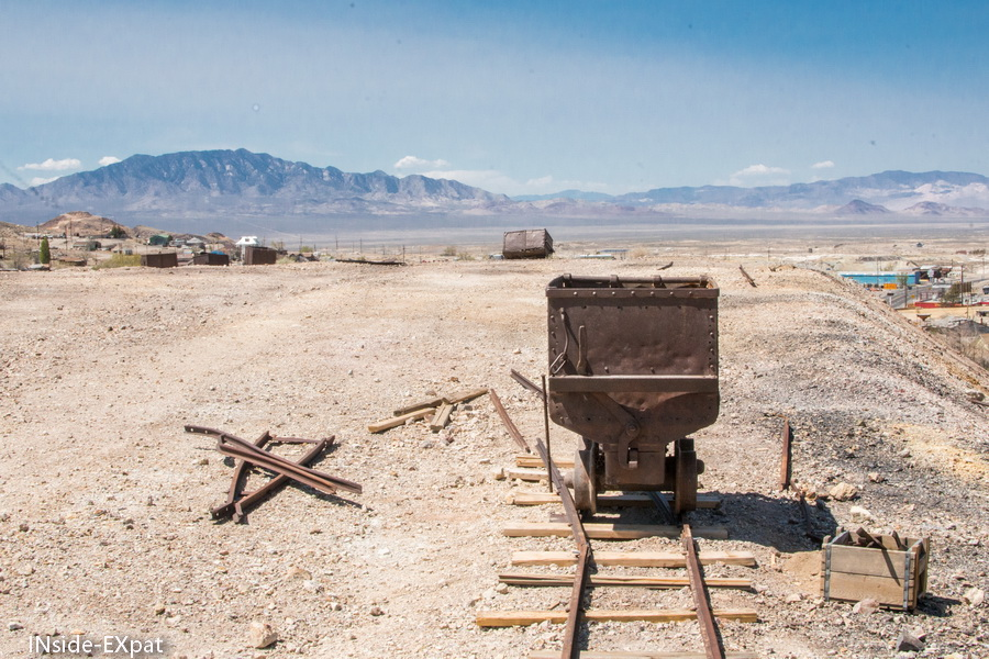 Vestiges du transport des minerais en dehors de la mine