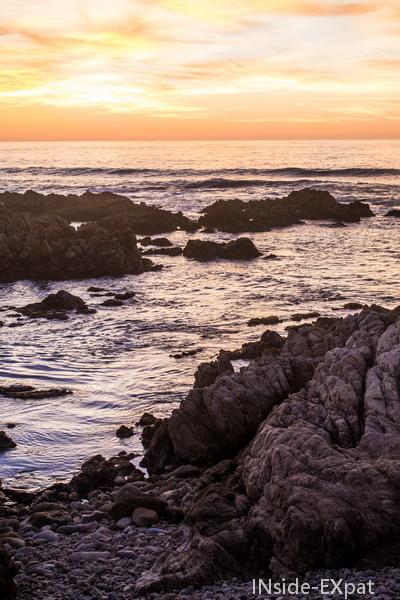 Beauté d'un coucher de soleil californien