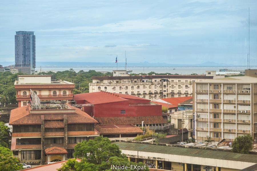 Vue sur Manille depuis le 9 Spoons
