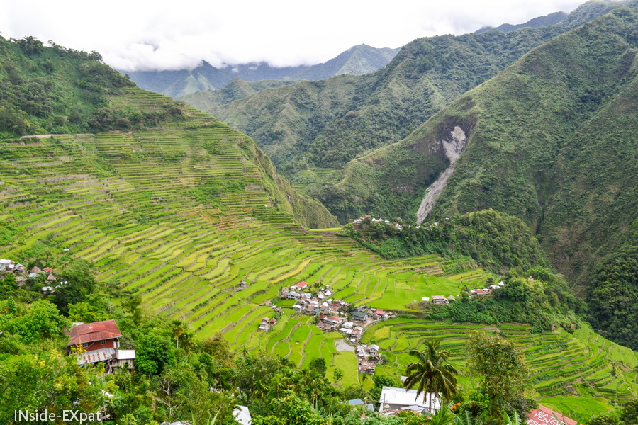 Batad, isolé au milieu des rizieres