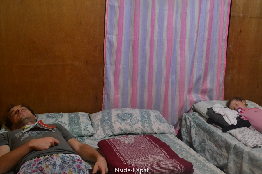 Daddy B. et Mimi B. endormis