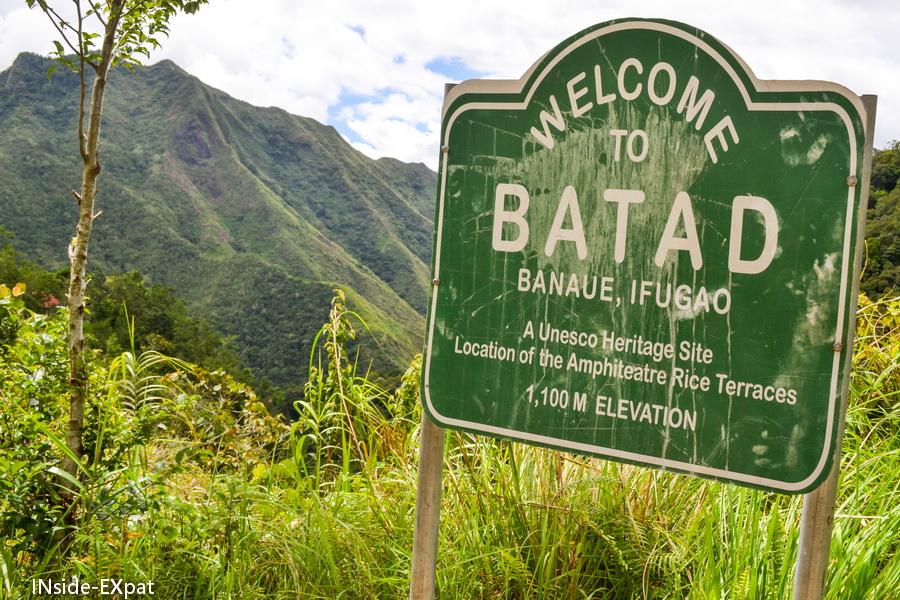 Panneau de Batad