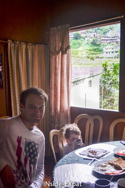Daddy B. et Mimi B. au petit déjeuner