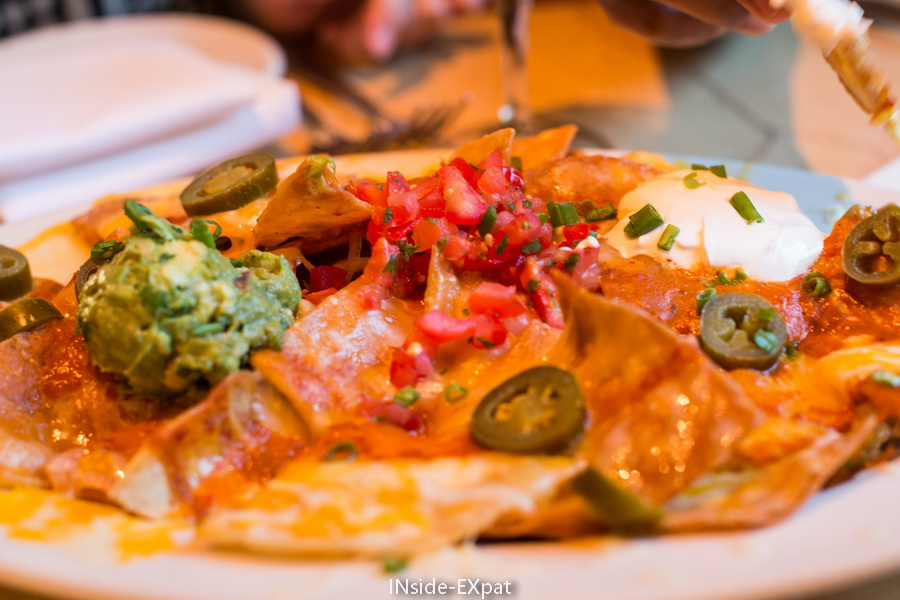 Plateau de tortillas à partager