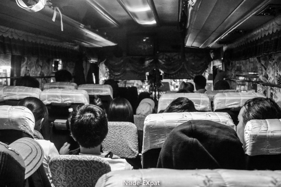 Dans le bus pour Batad