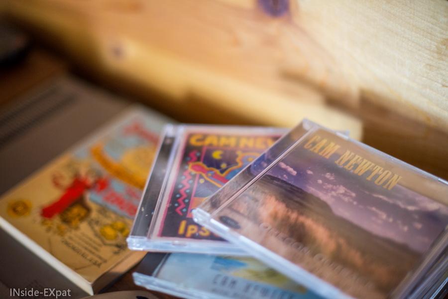 Ca, Newton's CDs