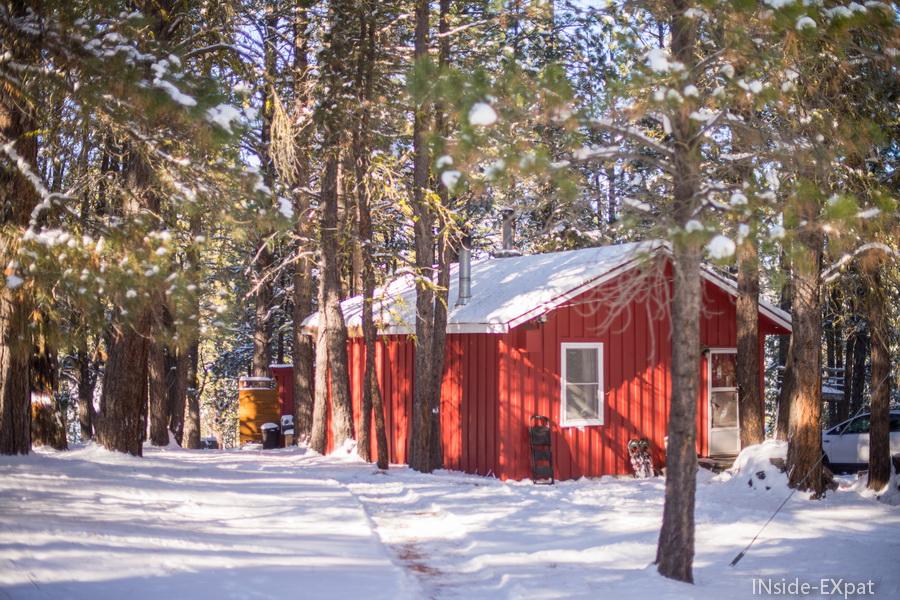 Squirrelville, notre cabane