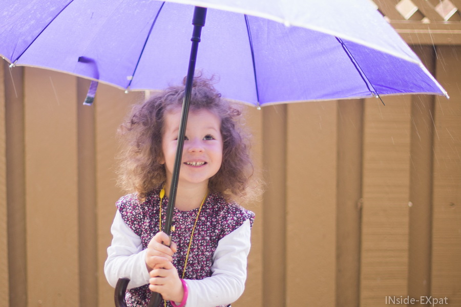 Mimi et son parapluie