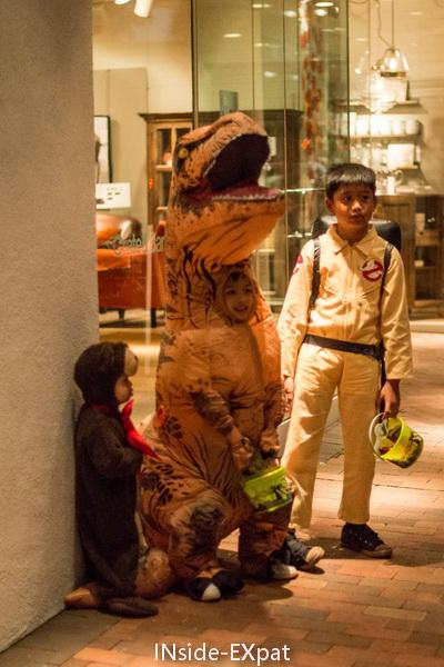 deguisement dinosaure t-rex