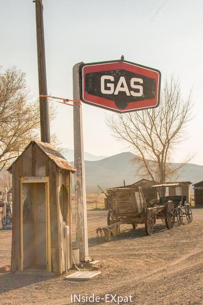 """Panneau """"gas"""""""