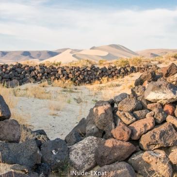 Dune de sable et histoire du Pony Express (Fallon, NV)