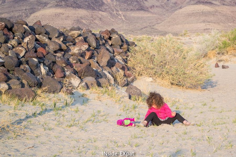Mimi dans le sable