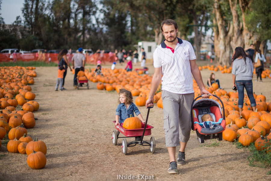 La B. Family au Pumpkin Patch