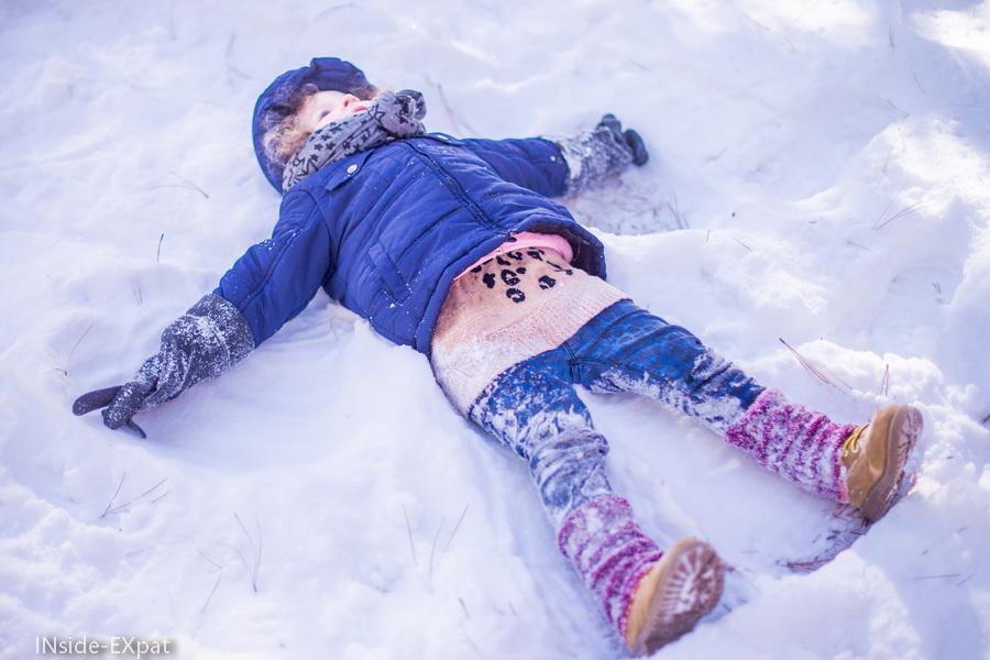 Mimi B. l'ange de neige