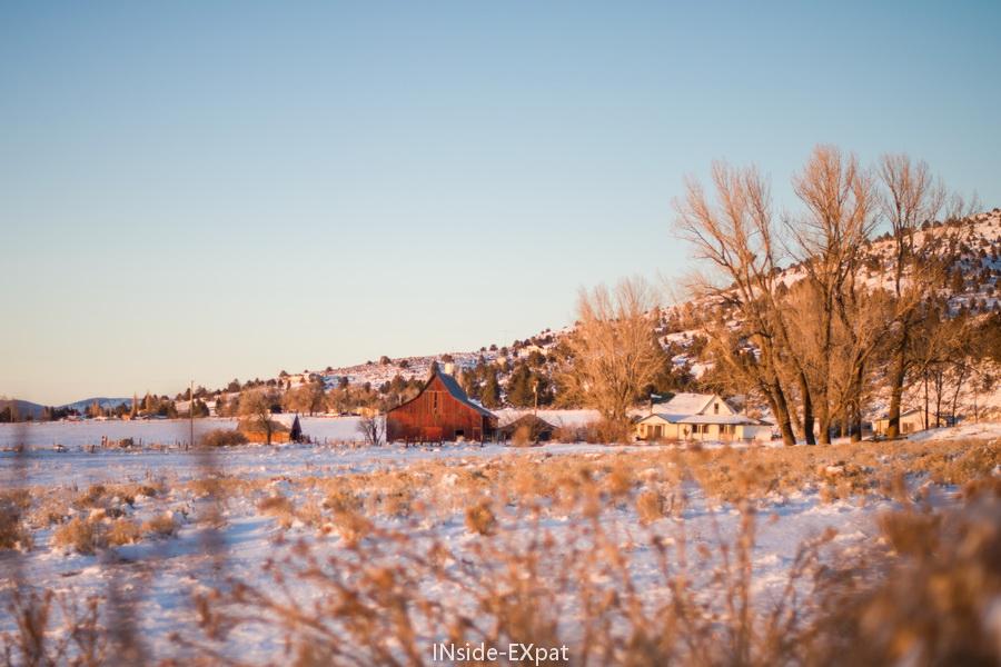 neige et montagnes à lakeview, or