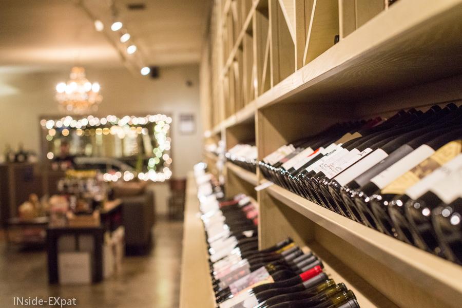 Wine Merchant, côté boutique