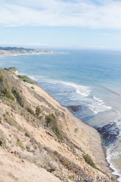 Vue depuis le Coastal Trail