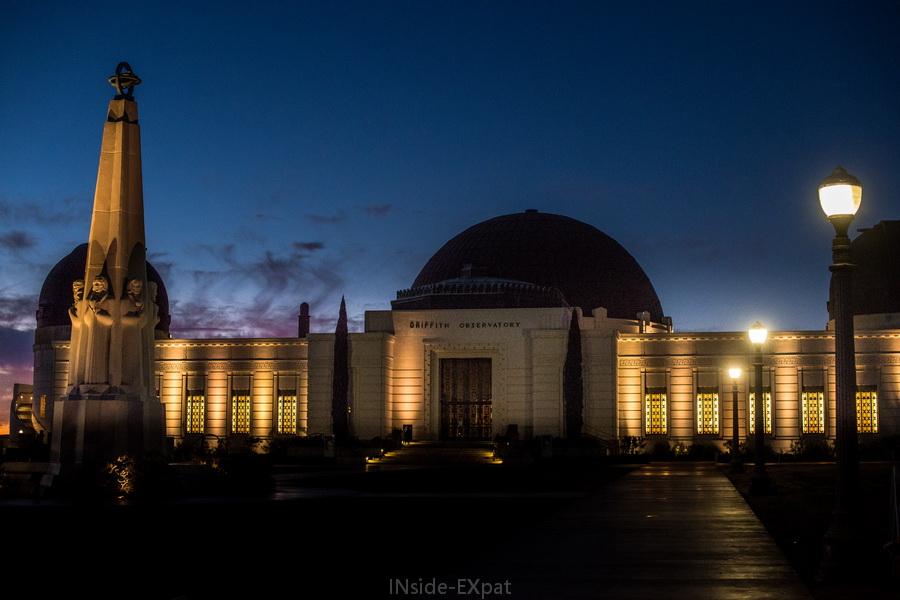 L'observatoire au petit matin