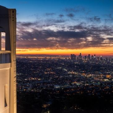 La magie d'un lever de soleil au Griffith Observatory (Los Angeles, CA)