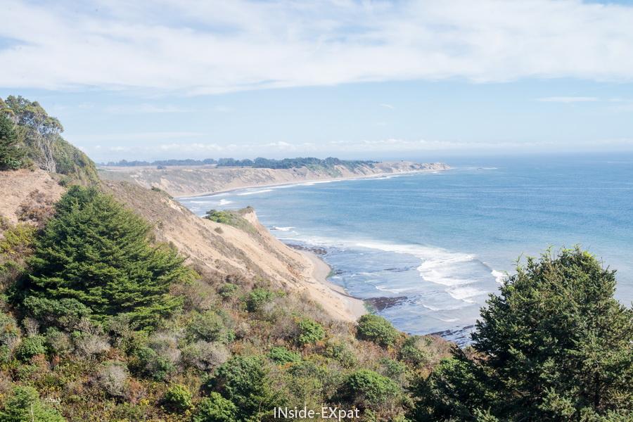 Vue depuis Coastal Trail