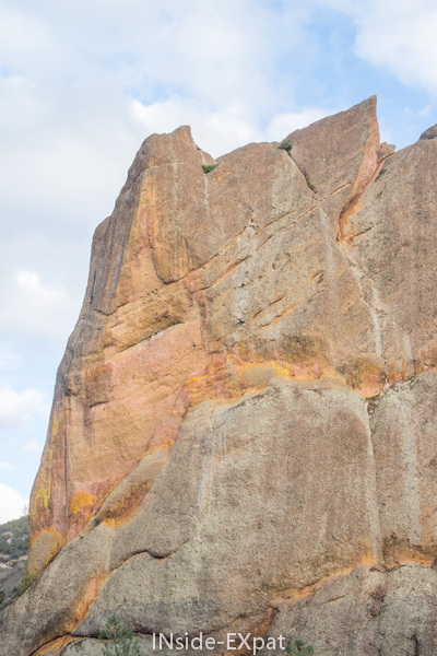 Autre rocher sur Balconies Cliff Trail