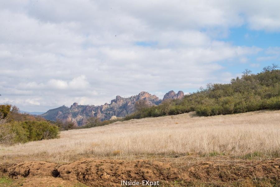 Pinnacles NP - accès par l'ouest