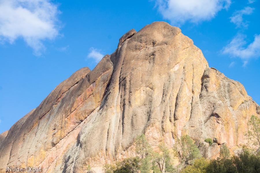 Autre rocher du Pinnacles National Park