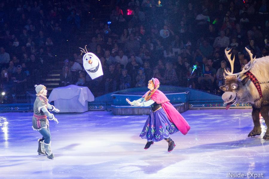 tete Olaf volante