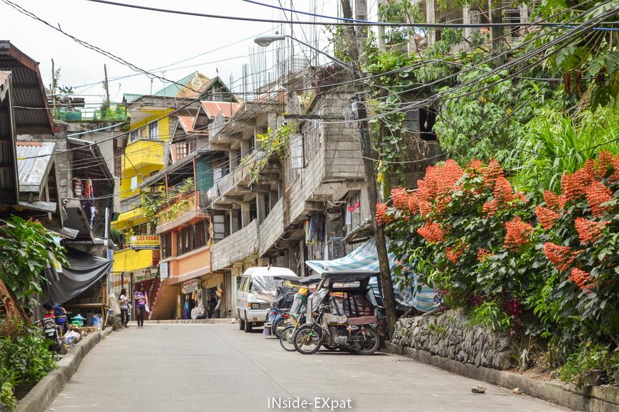 En route pour le Las vegas Restaurant & Lodge de Banaue