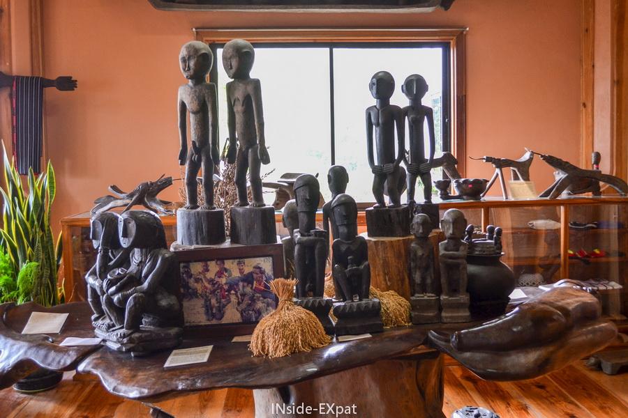 statues du musee de Banaue