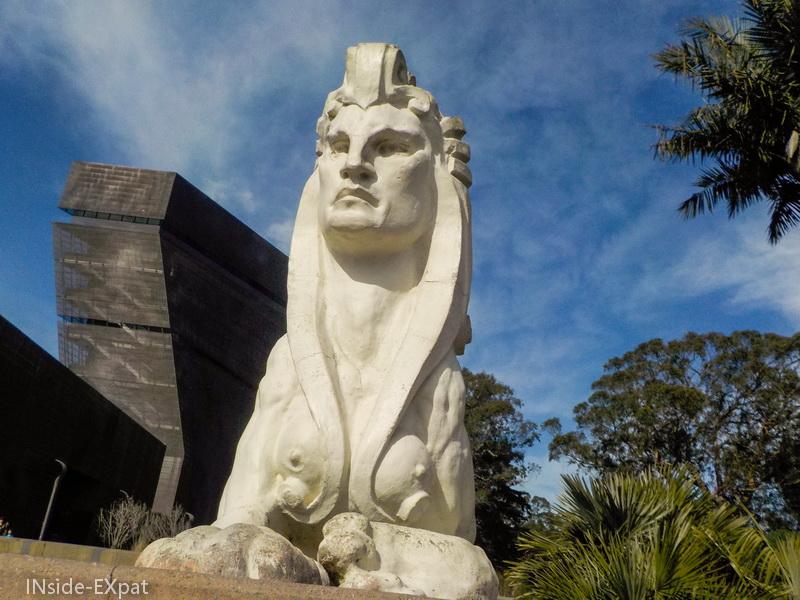 Sphinx blanc