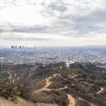 Randonnée matinale sur le Mount Hollywood Hiking Trail (Los Angeles, CA)
