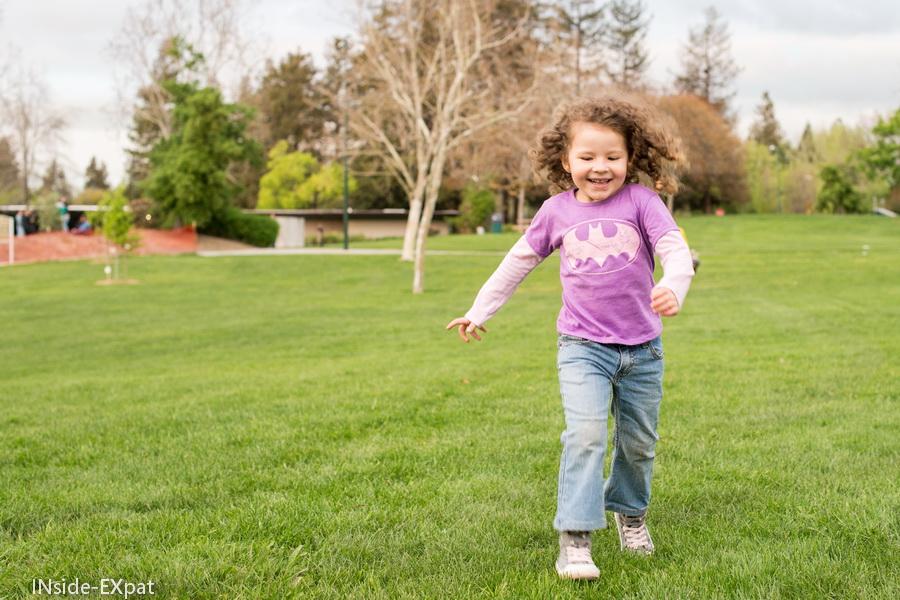 courir au parc
