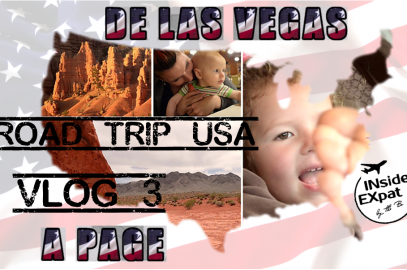 [Vlog voyage – Road trip USA #3] De Las Vegas à Page