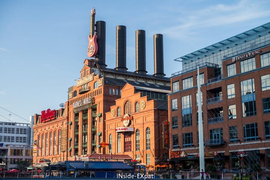 Baltimore, briques rouges