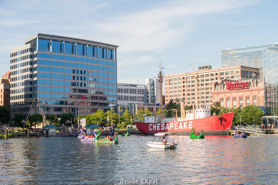 Inner Harbour Baltimore