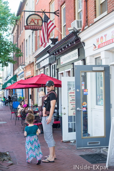 Rues de Fells Point - Baltimore, MD