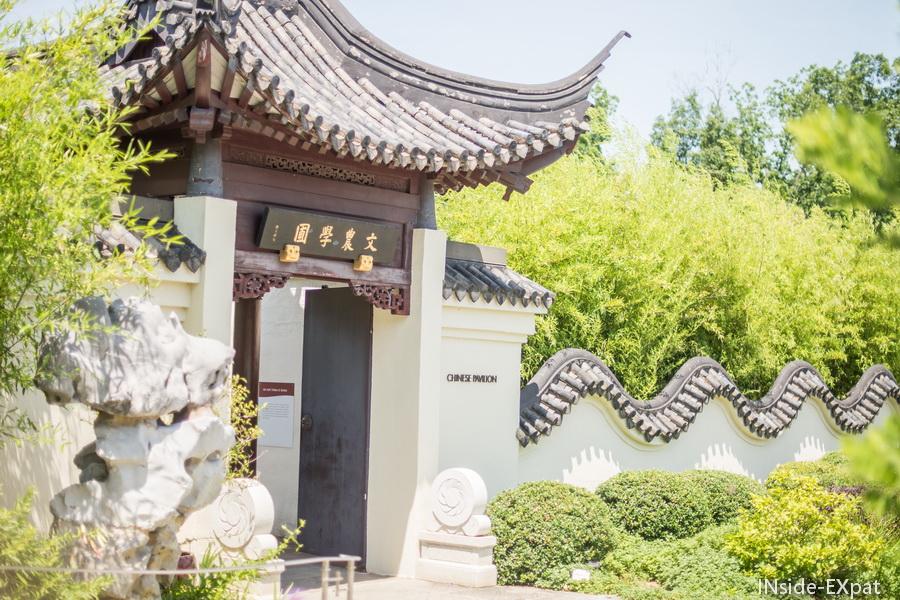 architecture chinoise au bonsai museum